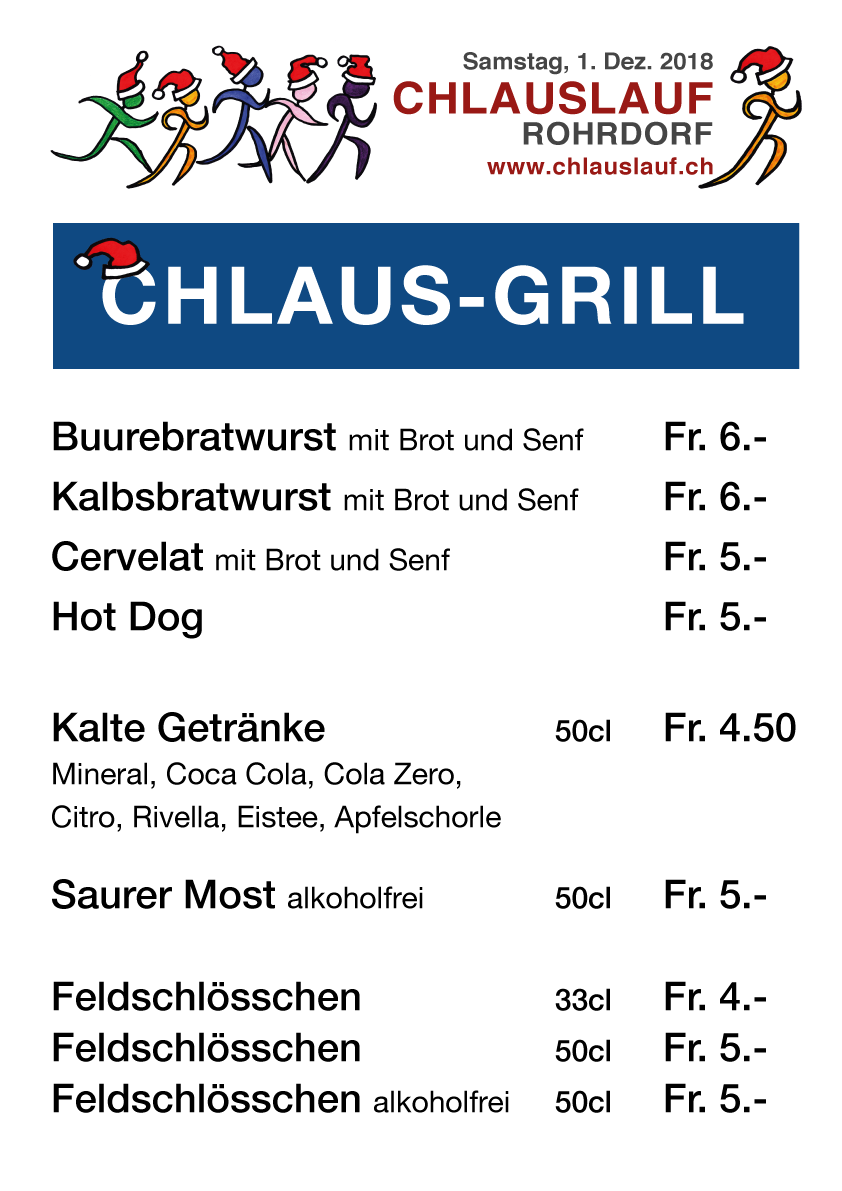 chlausgrill 2018